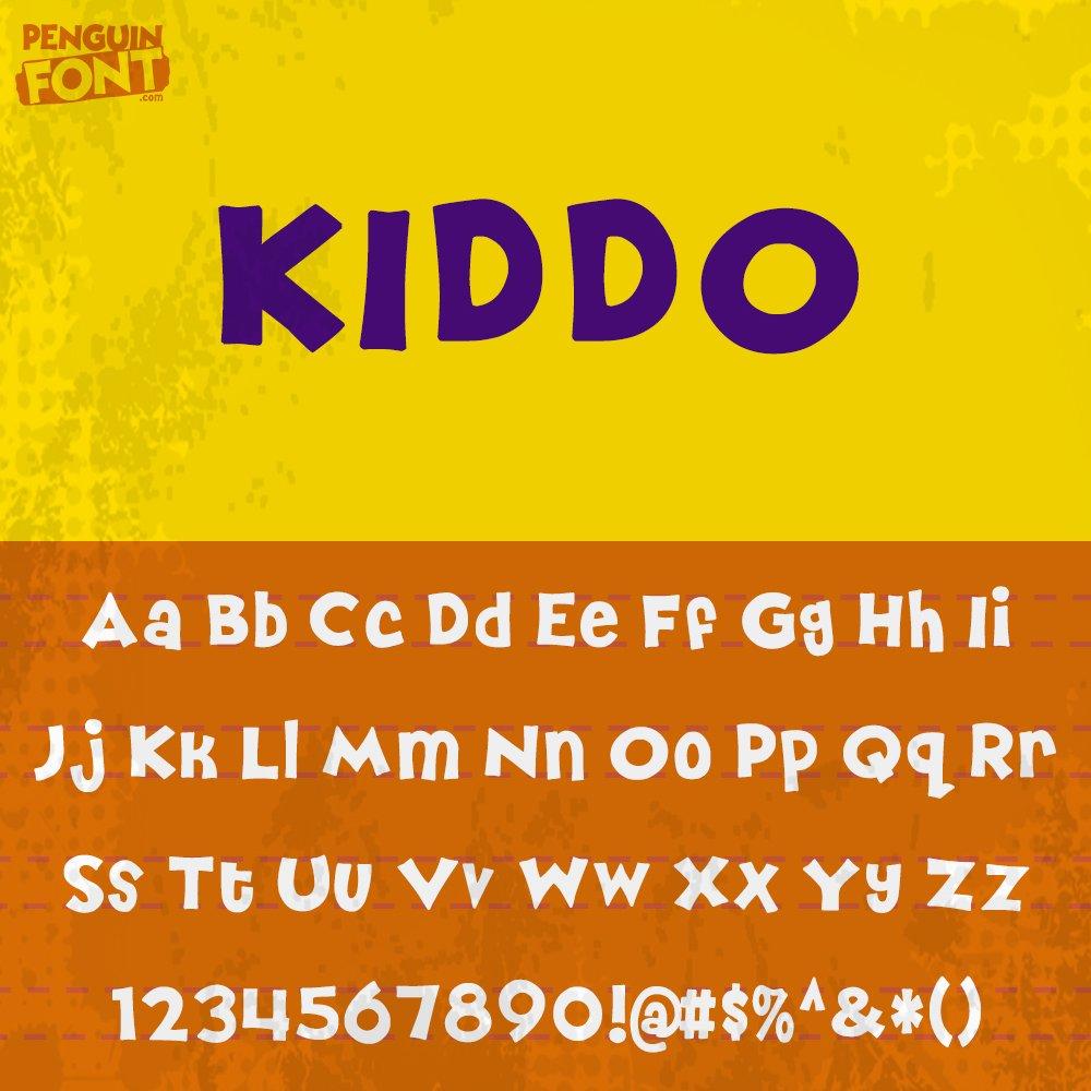 Penguin Kiddo Font